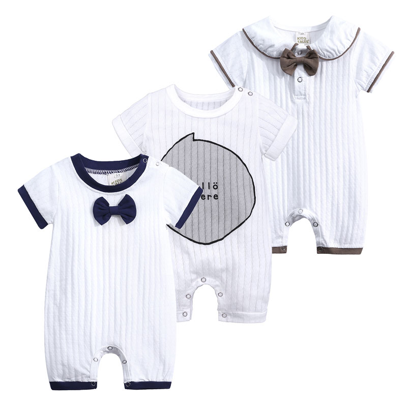 Top New Born Baby Clothes 100%Cotton Knit Long Sleeve Baby Girl   Romper   Summer Toddler Boy Onesies Fashion Infant Clothing