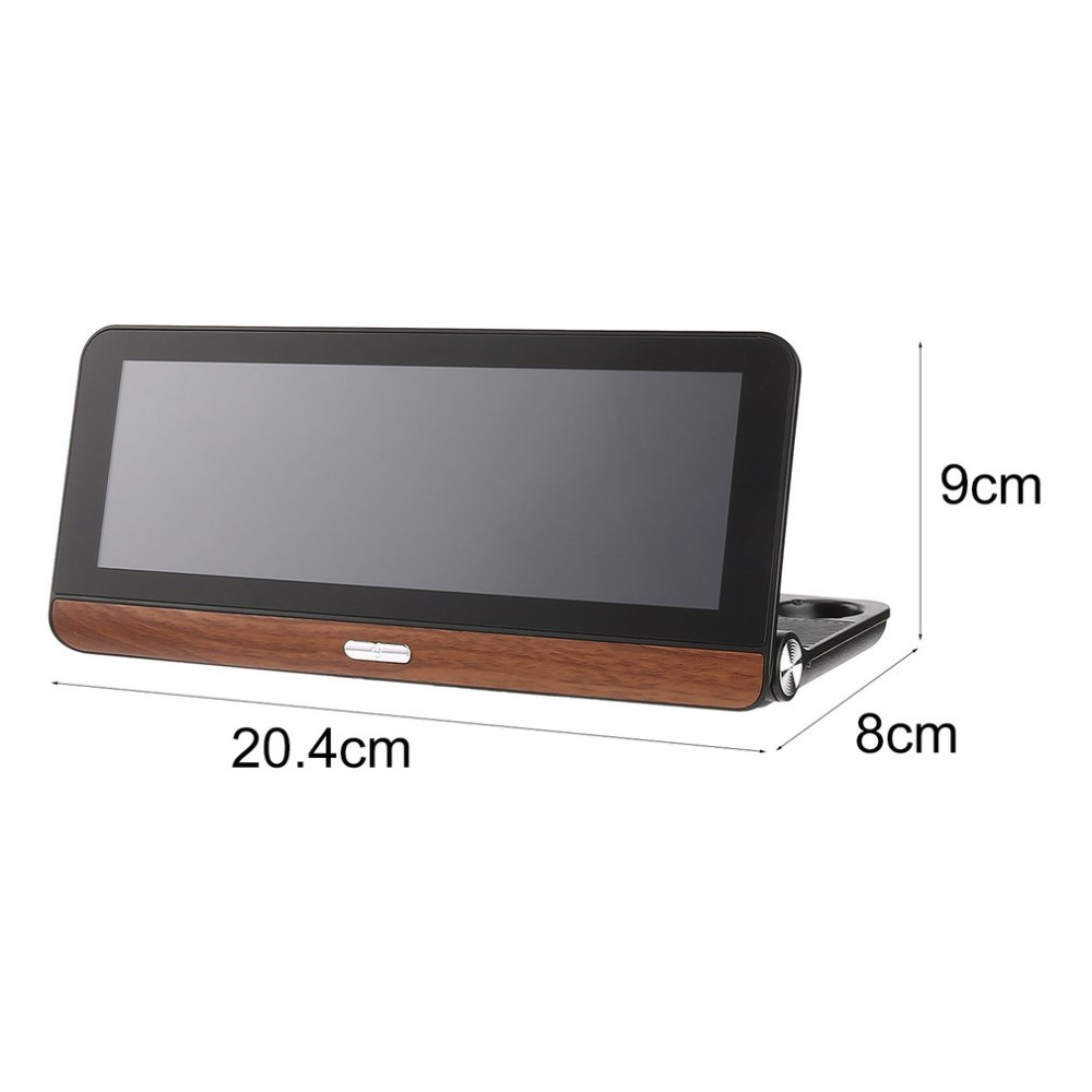 Hd 1080p 7 Inch Touch Screen Car Dvr Smart Car Rear View Mirror