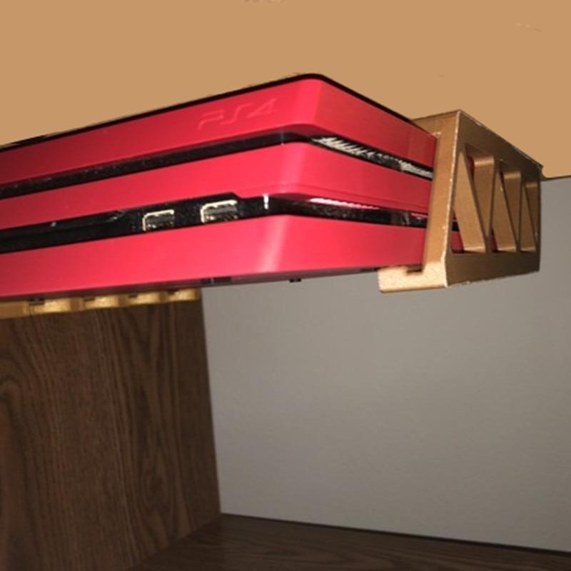Parte inferior Da Tabela de Rack Chip Suporte Desk Stand Hander Para PS4 PS4 PRO PS4 Consola de jogos Fino Pendurado 3D Impressão plástico