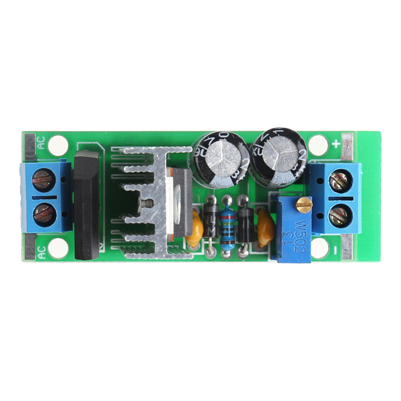 Suite LM317 Module Adjustable Power Supply Regulated Plate Rectifier AC/DC Input ...