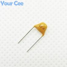 50 шт монолитный керамический чип конденсатор MLCC многослойный керамический конденсатор 0,1 мкФ 104 100нф 50В+/-20