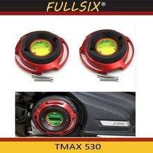 TMAX 530 accessoires de moto pour Yamaha TMAX530 SX DX 2017 2018 moteur décoration couverture T MAX 530 nouvelle arrivée facile à installer