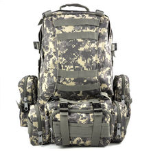 50 L 3 Day Outdoor Military Rucksacks Backpack Camping bag AUC