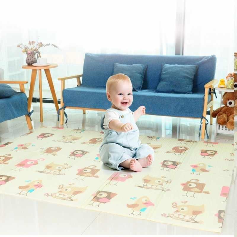 150X200 см складной детский игровой коврик утолщенная домашняя детская комната сплайсинга 1 см толщина ребенка скалолазание Ползания коврик детский спортивный