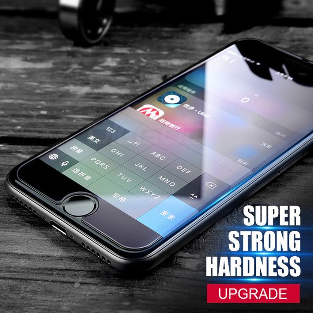 2.5D 0.26mm 9H Premium Tempered Glass For iphone 7 6 6s plus Screen Protector