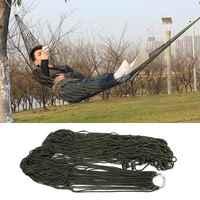 Portable Sleeping Bed hamaca for Outdoor Travel Camping Hammock Garden Nylon Hammock swing Hang Mesh Net