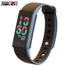 Jincor X6S Smart Браслет напоминание Водонепроницаемый Bluetooth Смарт TFT цветной экран пульсометр часы измерять кровяное давление