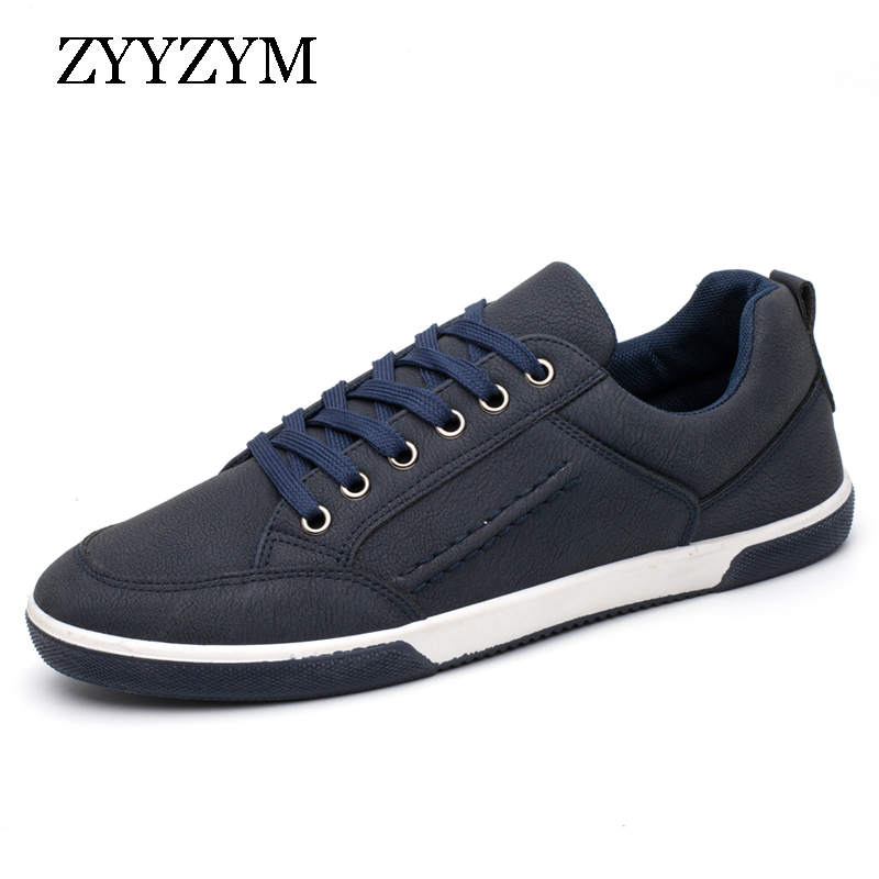 ZYYZYM Retro Lace Up Style Men Casual Shoes Ventilation Fashion Trend Sneakers For Man Hot Selling