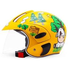 Professional Racing Motocross Casque hors route Casque Moto Capacete Moto Casco Off-road Cartoon Children Motorcycle Helmet недорго, оригинальная цена