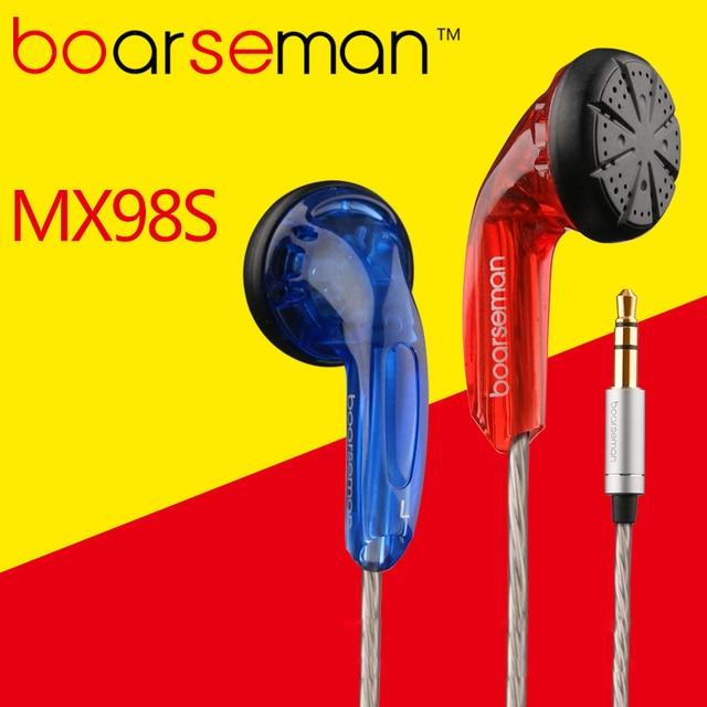 Nicehck boarseman MX98sで耳イヤホンdiy hifi低音イヤホン使用用mp3電話pcユニバーサル送料無料