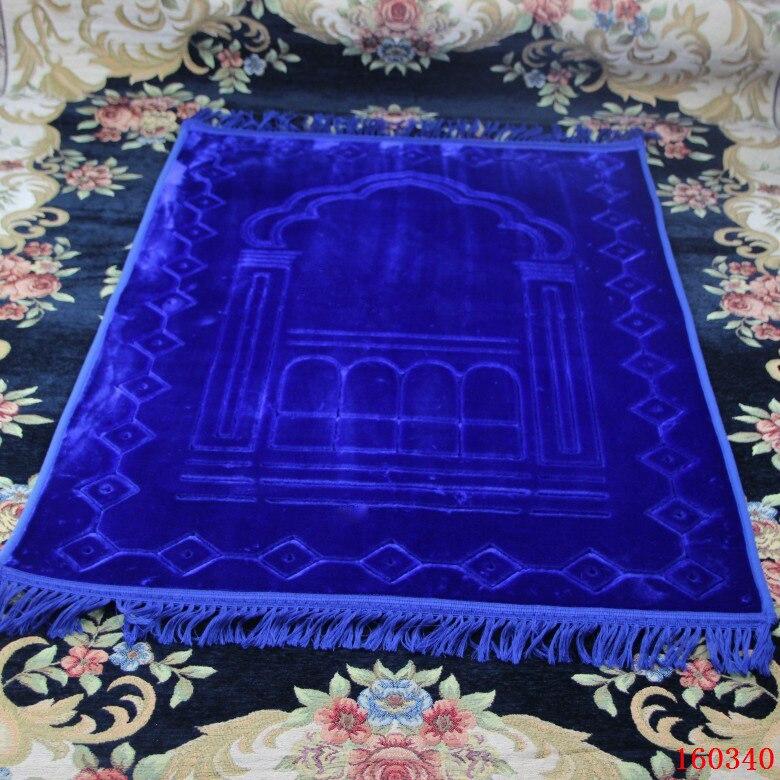 Grand épaissir grand Tapis de prière musulman islamique Salat Musallah Tapis de prière Tapis Tapete Banheiro Tapis de prière islamique 80*125cm