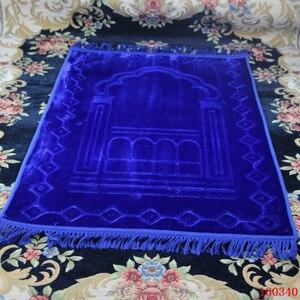 Image 1 - גדול לעבות גדול אסלאמי מוסלמי תפילת מחצלת סאלאט Musallah תפילת שטיח Tapis שטיח Tapete Banheiro האסלאמי מחצלת המכירה 80*125cm