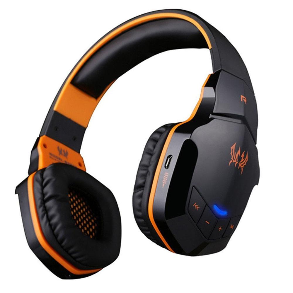 все цены на HL EACH B3505 Wireless Bluetooth Headphone Stereo Gaming Headset Headband Mic NFC oct13 онлайн