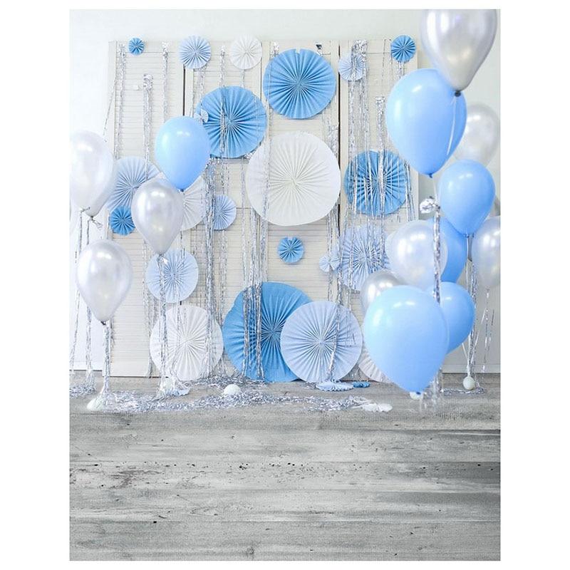vinyl print cloth newborn birthday balloons flower backgrounds photo studio backgrounds photocall portrait 150 * 220cm