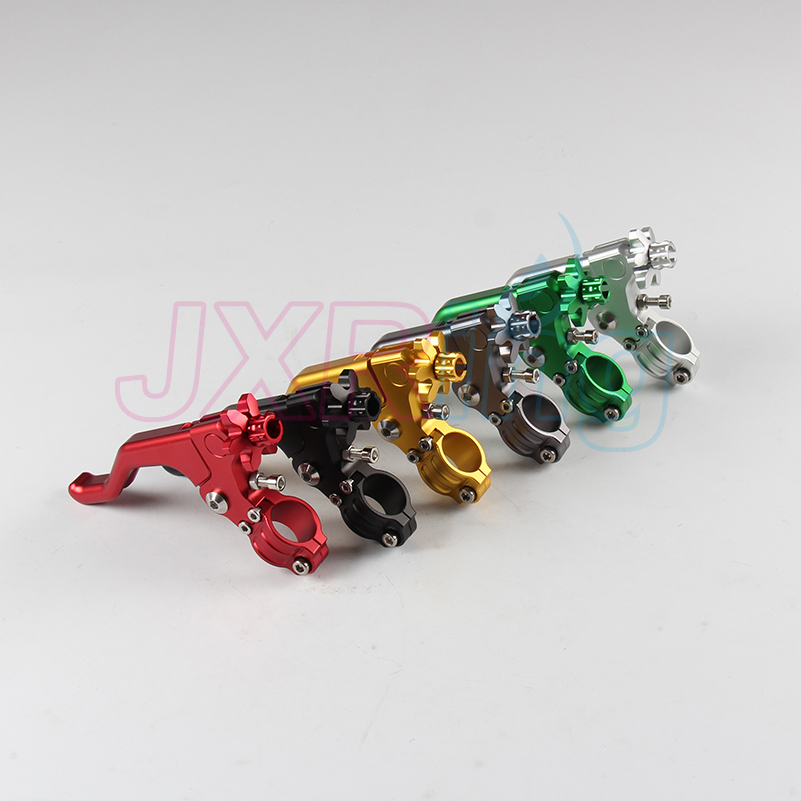 Eight colors CNC Performance Stunt Clutch Lever Fit CRF KTM YZF KXF RMZ EXC Motorcycle Free Shipping 6 colors cnc adjustable motorcycle brake clutch levers for yamaha yzf r6 yzfr6 1999 2004 2005 2016 2017 logo yzf r6 lever