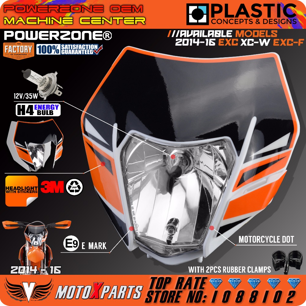 powerzone-headlight-headlamp-with-sticker-for-ktm-sx-f-exc-xcf-smr-2016-14-15-motorcycle-dirt-bike-mx-enduro-supermoto
