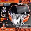 Powerzone Koplamp koplamp Met Sticker Voor KTM SX F EXC XCF SMR 2016 14 15 Motorfiets Crossmotor MX Enduro Supermoto