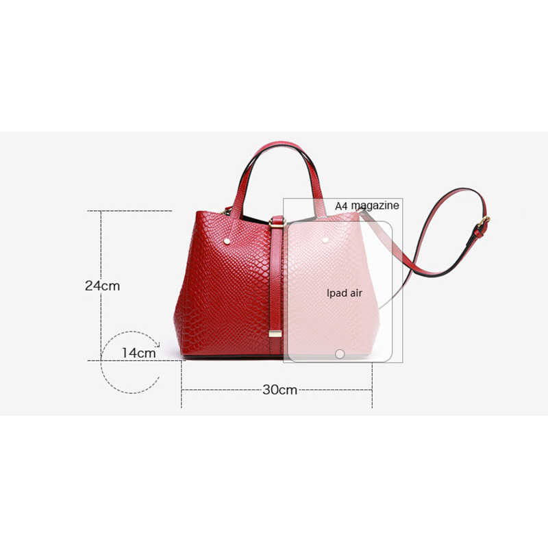 Serie de bolsos, Cartera de piel de serpiente, bolso de cuero genuino para mujer, bolso cruzado de piel de vaca 100% Natural para mujer, A079
