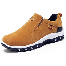 Hot Sale Men Outdoor Shoes Skid-proof Travel Shoes Hard-wearing Zapatos Hombre Slip-On Chaussure Homme Good Men Casual Shoes 638