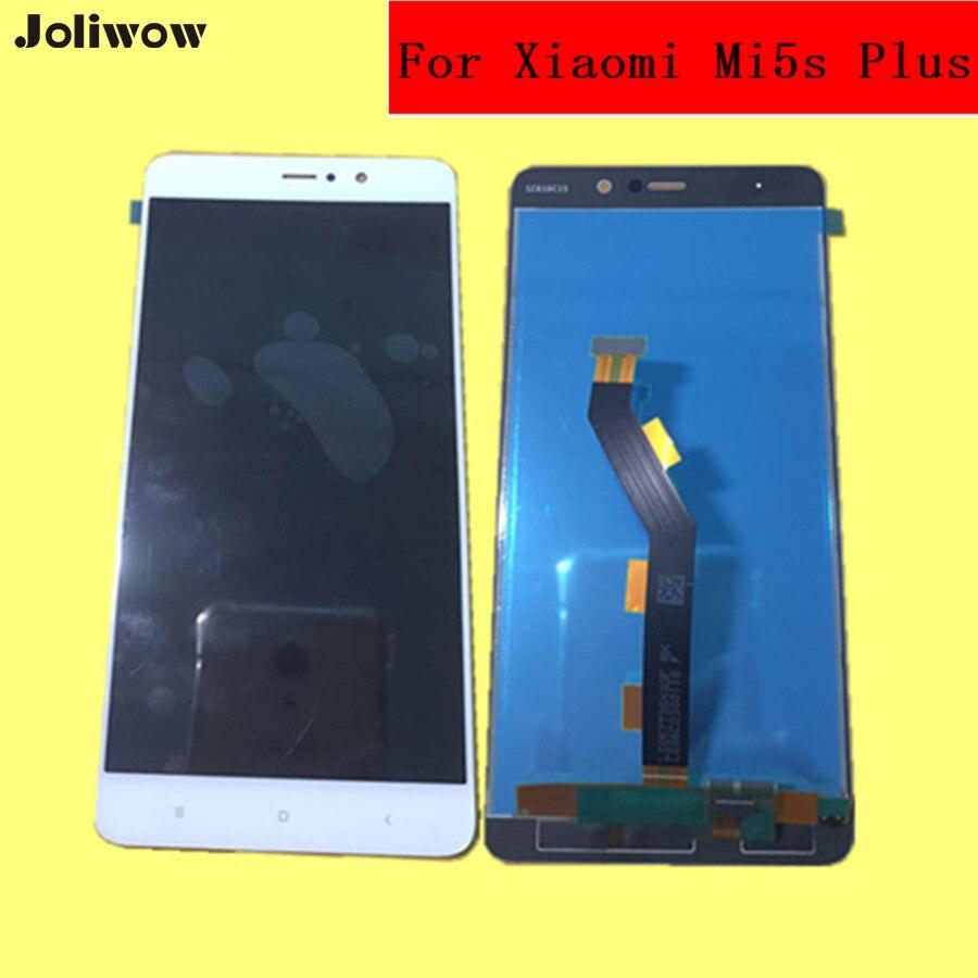 Probado! Para Xiao mi 5S Plus pantalla LCD + pantalla táctil digitizador Asamblea reemplazo Accesorios para Xiao mi 5S más 5.7