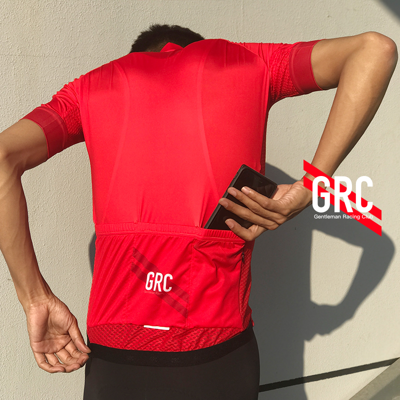 GRC 2017 Men s New Red Cycling Jersey Shortsleeve Breathable Long Jersey  Bicycle Sportswear Bike Quick Dry Cycling Clothing-in Cycling Jerseys from  Sports ... 46ecfd874