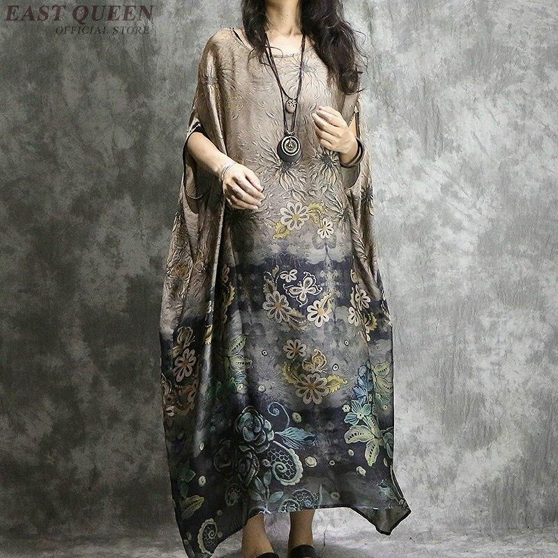 Traditional long Chinese dress clothing for women oriental modern qi pao vietnam ao dai clothing cheongsam AA4071