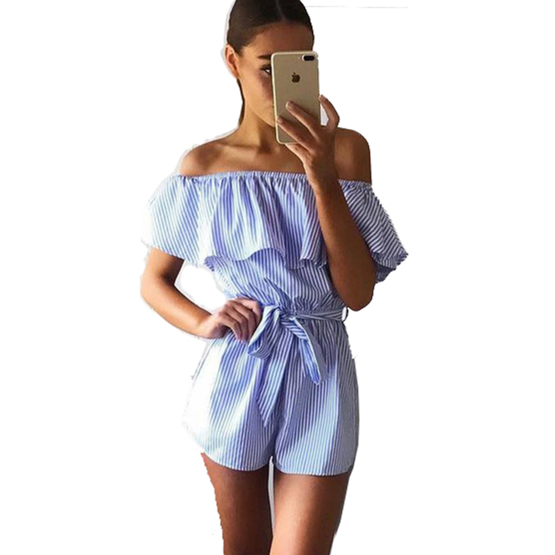 RUTIGEFU New Rompers Women lace Jumpsuit Elegant Short Overalls Jumpsuit Female Summer Playsuit chest wrapped strapless Rompe