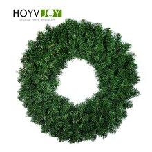 HOYVJOY Home Decoraties Kransen voor Kerst Pine 30 cm 40 cm Grote GarlandsHalloween Thanksgiving Wedding Party DIY Decor