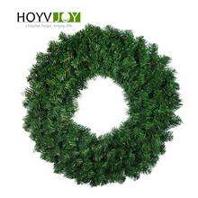 HOYVJOY Home Decorations Wreaths for Christmas Pine 30cm 40cm Big GarlandsHalloween Thanksgiving Wedding  Party DIY Decor