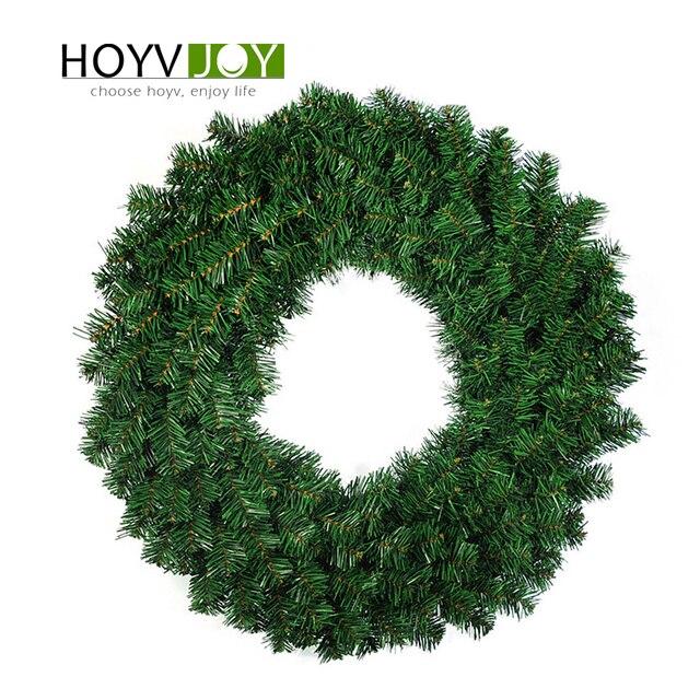 Hoyvjoy 홈 장식 화환 크리스마스 소나무 30 cm 40 cm 큰 garlandshalloween 추수 감사절 웨딩 파티 diy 장식
