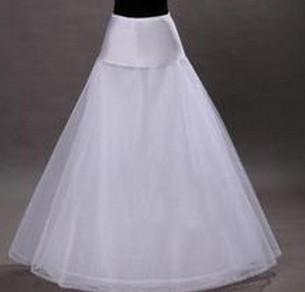 Free Shipping 2017 A-Line Petticoat Wedding Accessories Vestido de Noivas Wedding Petticoats for Wedding Dress