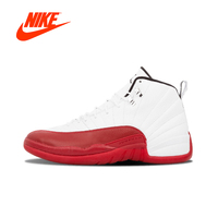Oryginalny Nowy Przyjazd Autentyczne Air Jordan 12 Retro-130690 110 Mens Basketball Shoes Sneakers Oddychające Sportowe Na Świeżym Powietrzu