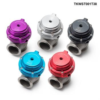 38 Mm Eksternal Wastegate V-Band Flanged Turbo Limbah Gate untuk Keterlaluan Turbo Manifold TKWST001T38