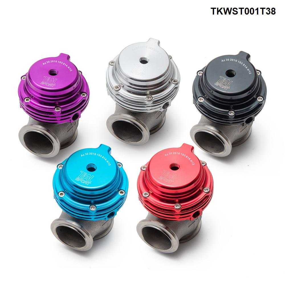 Portão de resíduos turbo pulseira v, 38mm de desperdício externo para supercarga turbo colector-0
