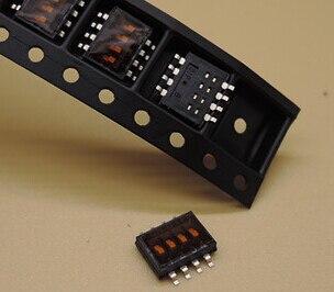 100% Original DHN-04F-T 4P 1.27mm Half Pitch Encoder switch DHN-04F-T-V 1.27-4P SMD DIP Switch DHN-04F-T-V-T/R x 100PCS