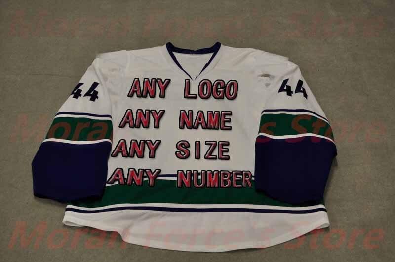 ФОТО Custom Factory Hockey Jerseys OEM Brand 2013-14 Utica Embroidery Mens Supplier Tackle Twill USA CANADA Australia Free Shiping