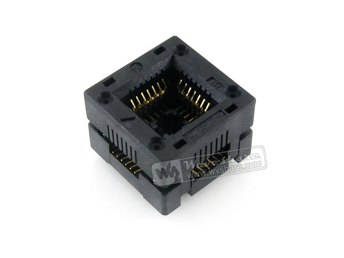 Enplas IC Test Socket Adapter PLCC-28-1.27-30 1.27mm Pitch PLCC28 Package Free Shipping