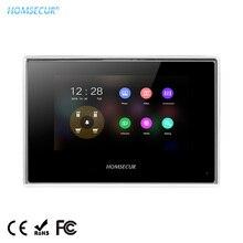 """HOMSECUR BM718HD-B """" сенсорный экран двери монитор телефона акриловая панель Поддержка записи, фото для HDK серии двери телефон системы"""