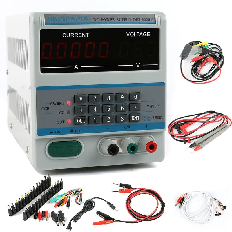 DSP 305BF Adjustable DC Power Supply 30V 5A 0 1V 0 0001A Digital Laboratory Power Supply