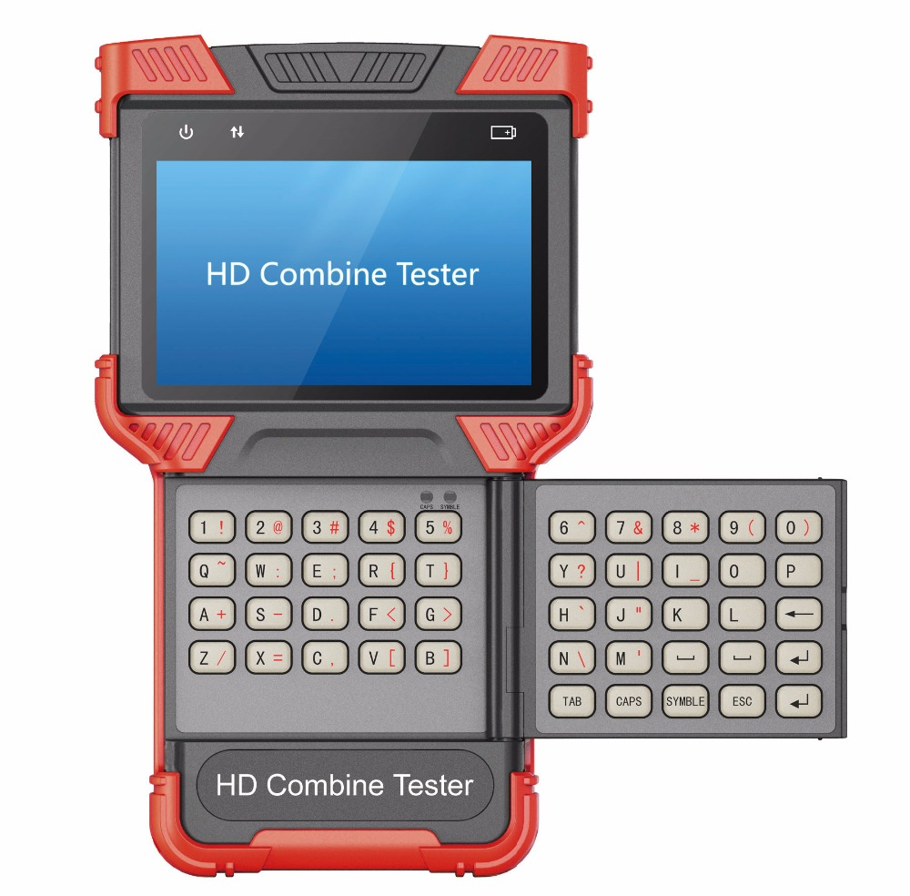ip camera tester hd combined tester, multifunction cctv tester, AHD IP Analog Signals, Multifunction 3-in-1 Tester
