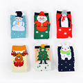 2017 New Women Cotton Christmas Socks (5 pairs/lot) Cartoon Cotton Hairy Cute Socks Jacquard Fuzzy Socks Female For Gifts