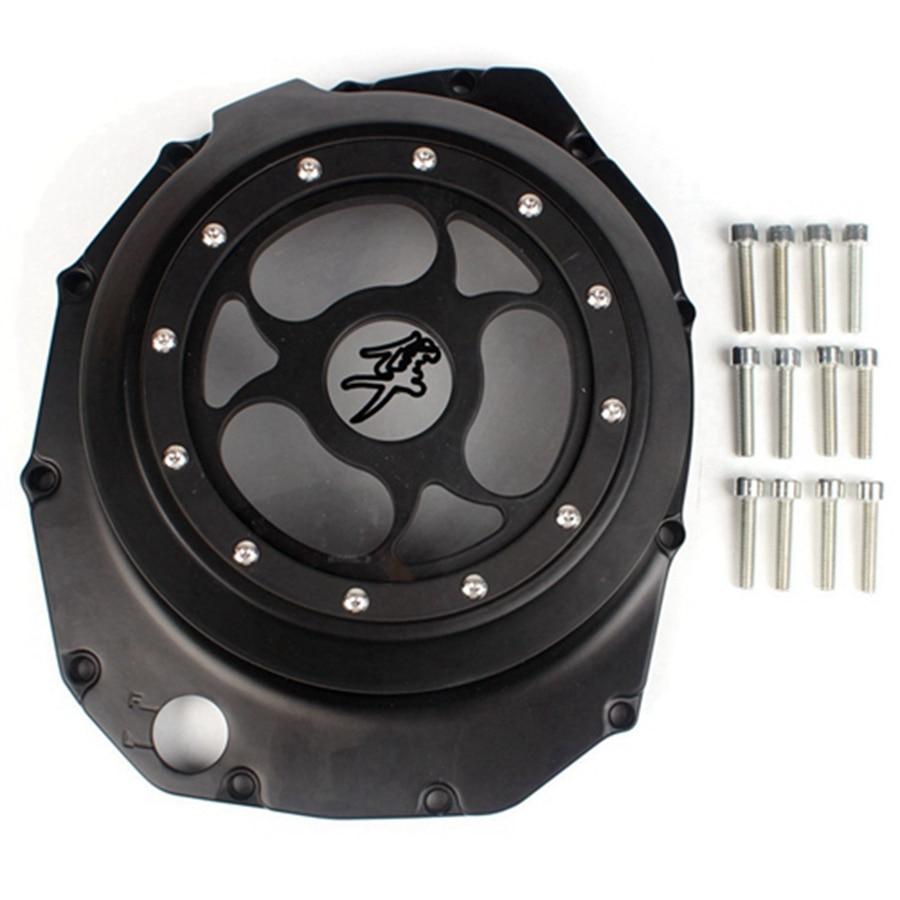 Engine Stator Crankcase Cover Crank Case For Suzuki Hayabusa GSX1300R 1999-2007 Moto Accessories engine stator crank case generator cover crankcase for yamaha fz400 all years cnc al black color