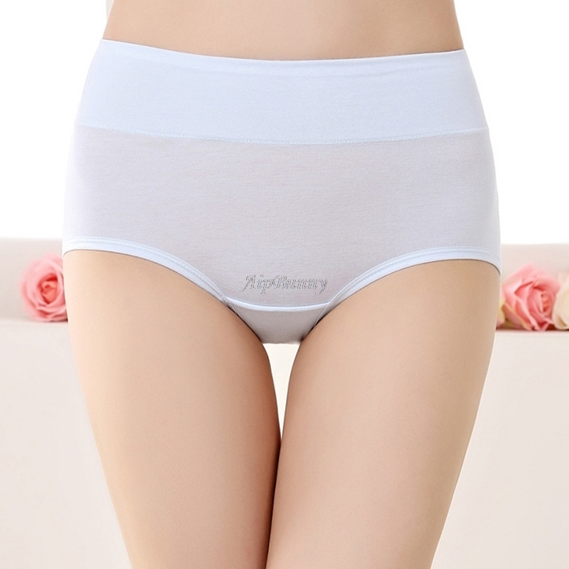 Aipbunny 100% Cotton Briefs Push up Color sexy Lingerie Breathable Women's Panties Patch Girl lady Elastic