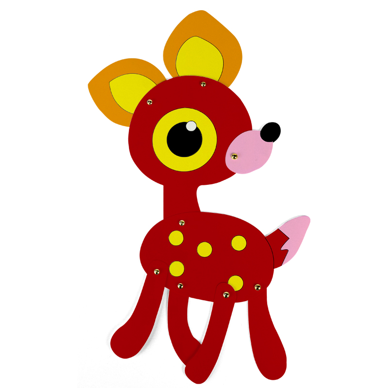 draw kids paper craft paint animal cute giraffe deer painting cardboard decoration educational drawing toy children diy games in drawing toys from toys