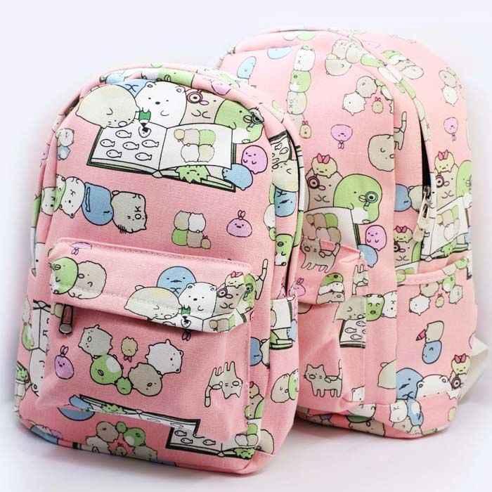 Сан-х Сумико гураши японские игрушки Аниме плюшевый рюкзак угловой био ручные биологические сумки на плечо Детские школьные подарки