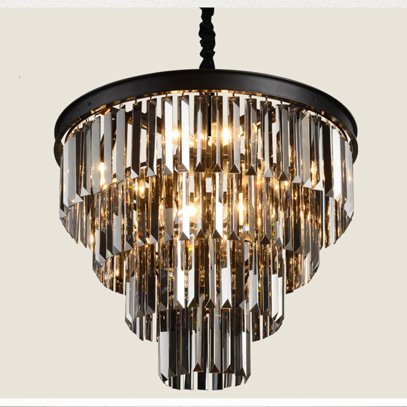 Large crystal chandelier Luxury Lustres crystal light Fashion chandelier lighting fixture chandeliers Lighting For foyer home