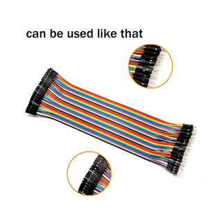 Image 4 - 10 Meters Rainbow Ribbon Cable Premium Standard 7*0.127mm 28AWG Pitch 12 Pins Flat  Wires Colorful Rainbow Ribbon Cable