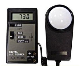 Tenmars Digital Light Meter YF-1065 Best Quality and Cheaper Price, 0-20000 Lux цена