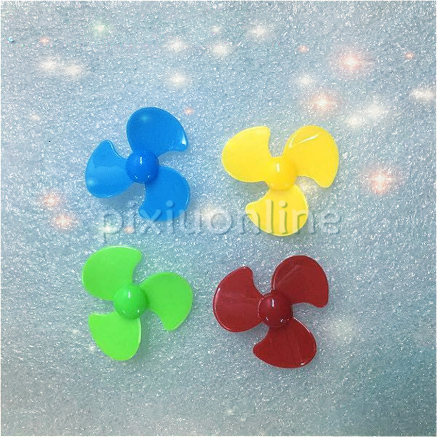 5pcs/pack DS563 Plastic Diameter 30mm Model Aircraft Propeller Tool Parts Sale At A Loss France