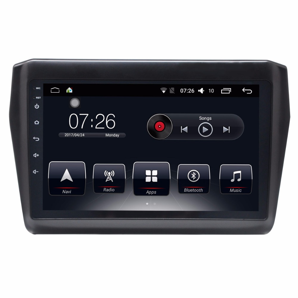 Android 10.1 Inch Car Radio Multimedia Stereo Player GPS